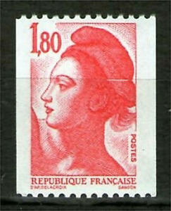 TIMBRE-N-2223-NEUF-XX-LUXE-LIBERTE-ROULETTE