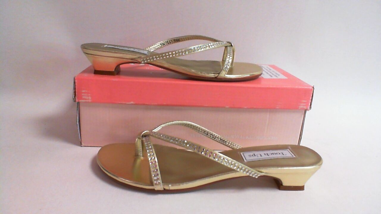 NEW: Touch Ups Wedding/ Evening Shoes - Gold- Ashley - US 7.5 M UK 5.5 #5L346