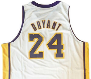 4afdb45d9 XXL adidas LOS ANGELES LAKERS NBA Basketball KOBE BRYANT  24 Sewn ...