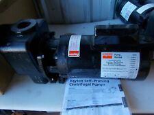 Dayton 4ua71 1 12 Hp Self Priming Centrifugal Pump Cast Iron