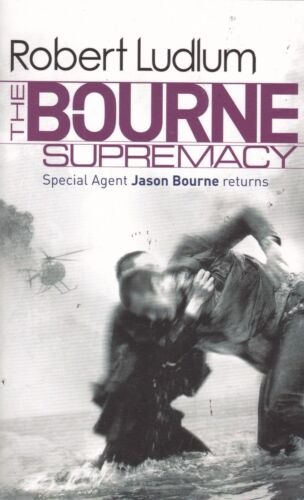 1 of 1 - THE BOURNE SUPREMACY, ROBERT LUDLUM, PAPERBACK