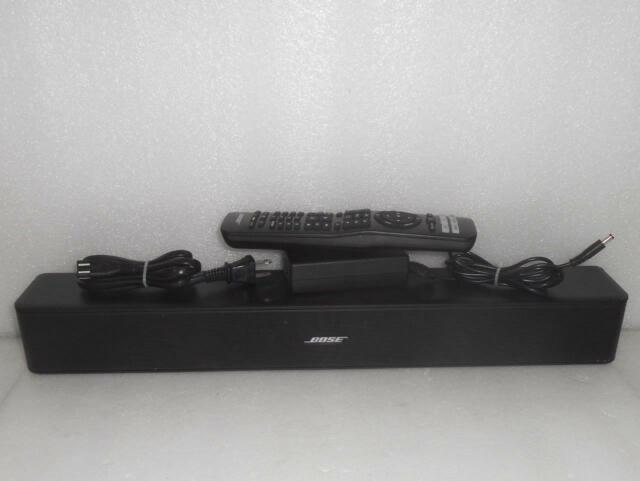 *AS-IS* Bose Solo 5 TV Sound System Soundbar Speaker 418775