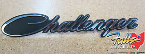 2015-2017 Dodge Challenger Chrome Grille Emblem Badge Nameplate Mopar OEM