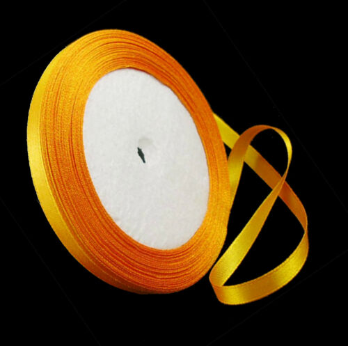 22m Ribbons Satin Ribbon 6mm Roll 25 Yards