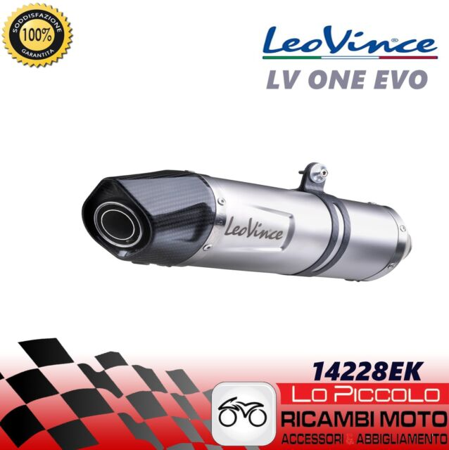 14228EK Terminal de Drenaje Leovince LV One Evo Cat Yamaha MT 09 Sp 2017 2018