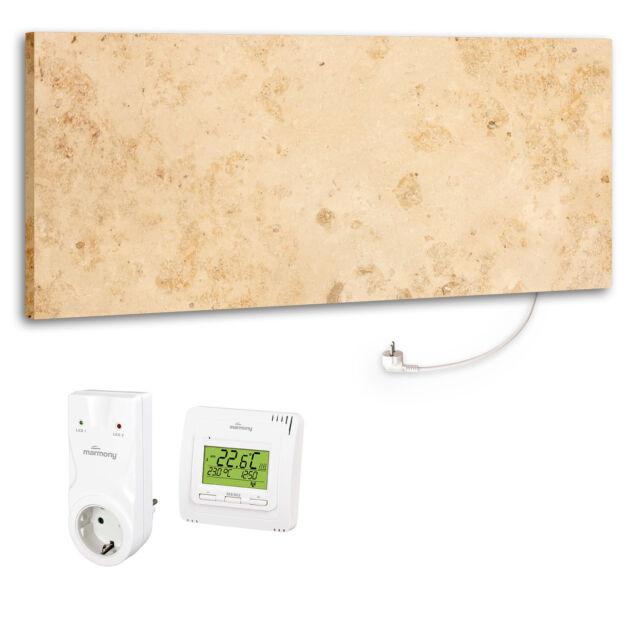 Marmony M800 Plus 800 Watt Infrarotheizung Jura inkl. MTC-35 Thermostat B-Ware