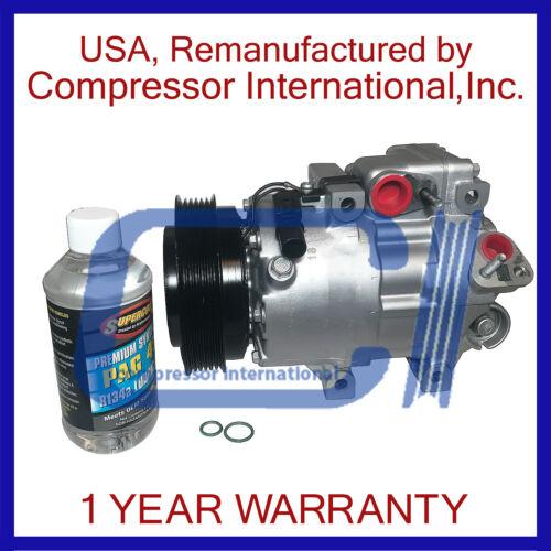 06-11 Azera 3.8L,07-11 Azera 3.3L,07-09 Sante Fe 2.7L// 3.3L Reman A//C Compressor
