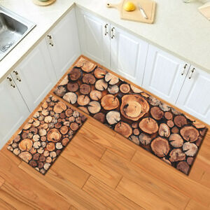 Details About Grunge Rustic Round Wood Tree Stump Area Rugs Kitchen Carpet Bedroom Floor Mat