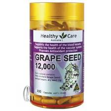 AU SELLER Healthy Care Grape Seed 12000mg 300 Capsules general wellbeing he001