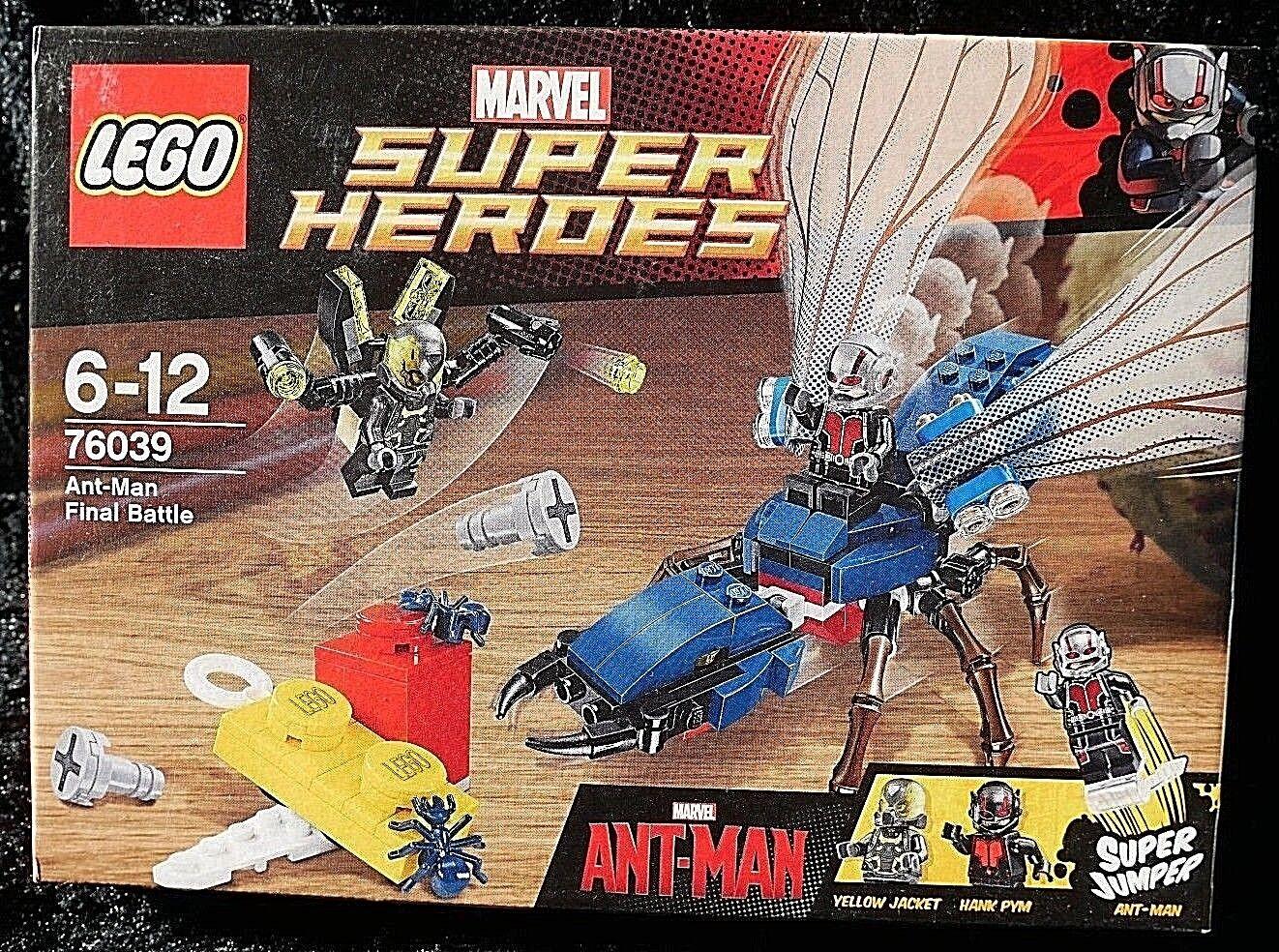 76039 LEGO MARVEL SUPERHEROES ANT-MAN FINAL BATTLE - RETIROT SET NEW SEALED A1
