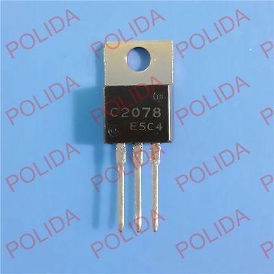10PCS RF/VHF/UHF Transistor SANYO TO-220 2SC2078 C2078 100% Genuine and New