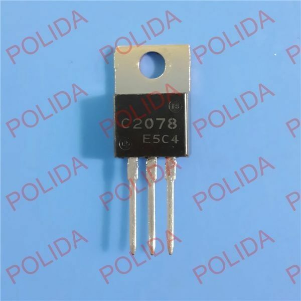 10PCS RF/VHF/UHF Transistor SANYO TO-220 2SC2078 C2078 100% Genuine and New