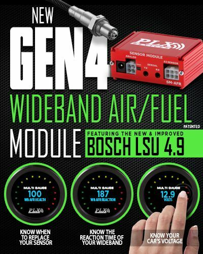 FREE PRIORITY SHIPPING! New GEN-4 PLX Air//Fuel Module with wideband O2 Sensor