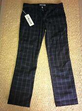 """J.E. MC COLLUM Mens BROWN Trousers NEW Waist 32"""""""