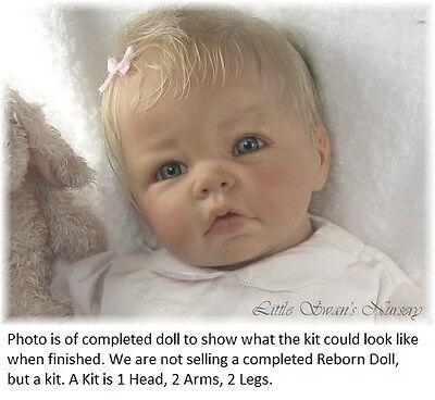 REBORN DOLL KIT PREEMIE BY ELLY KNOOPS LITTLE LUCA VINYL DOLL KIT