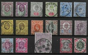 Group-Of-17-KEVII-Items-Values-To-2s6d-Good-Colours-Several-With-CDS-Ref-07219