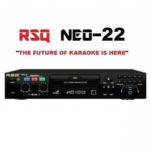 Details about NEQ RSQ NEO 22 PRO KARAOKE MACHINE BLUETOOTH PLAYER 2800  KARAOKE SONGS CDG MP3