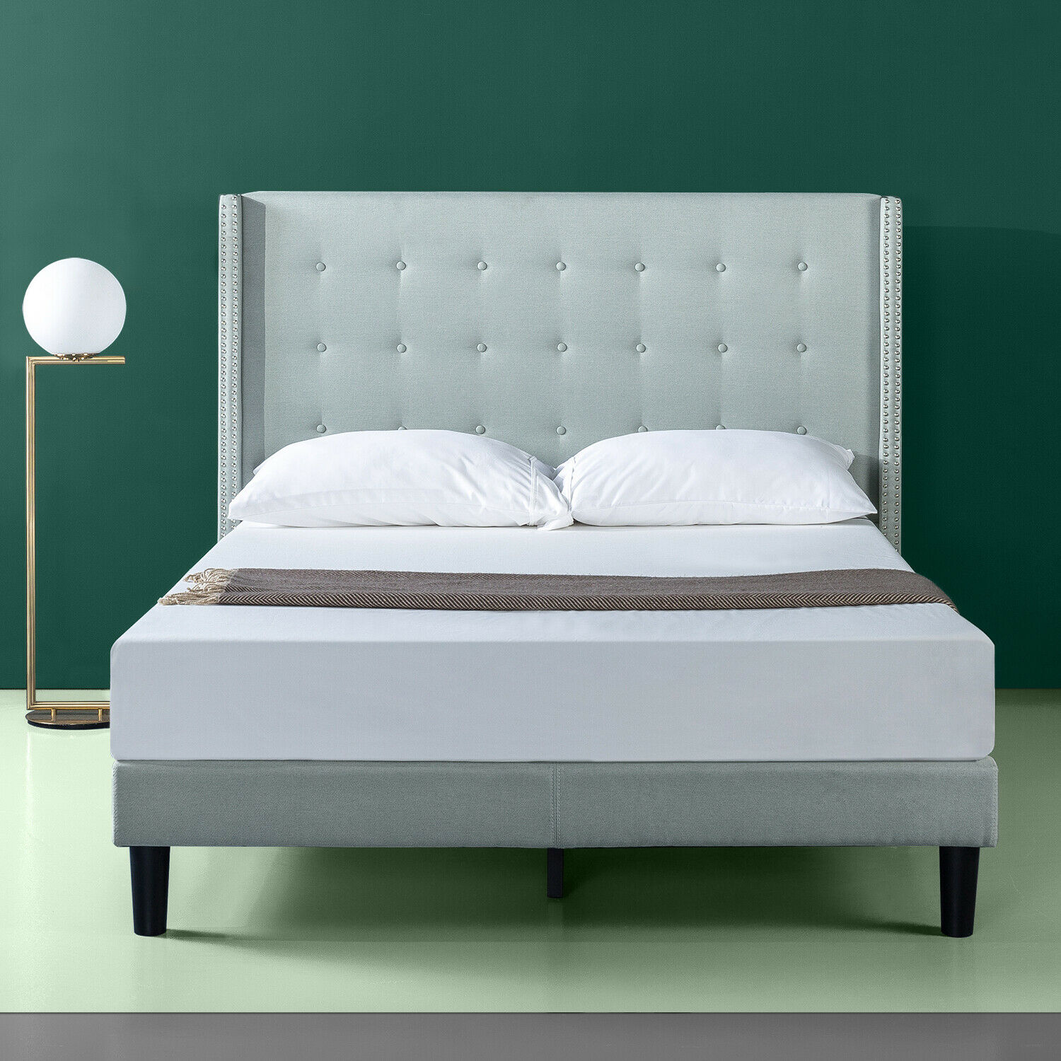 Tall Headboard 7 King Size Extra Large Tufted Upholstered Bedroom Furniture For Sale Online Ebay