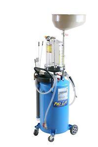 Ölabsauggerät Ölauffangwagen pneumatisch inkl. 6xAbsaugsonden 02256