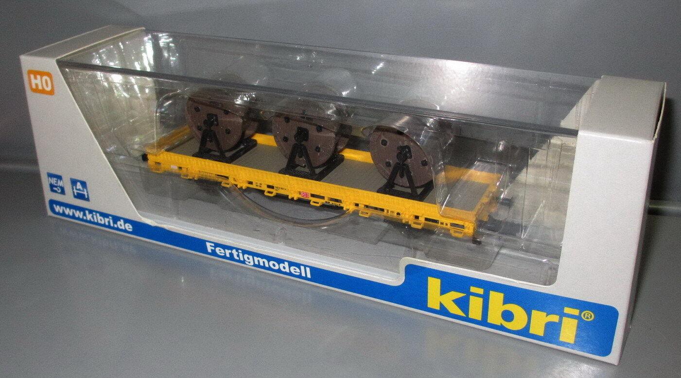 Kibri h0 26269 baja bordo Cochero con 3 ruedas de cable gleisbau __ modelo terminado