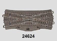 Märklin H0 24624 C-Gleis Doppelkreuzungsweiche mit Elektroantrieb NEU + OVP