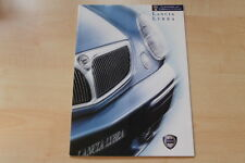 75755) Lancia Lybra Prospekt 12/1999