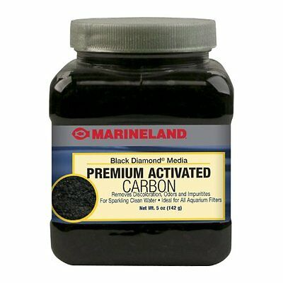 New Marineland Black Diamond Premium Activated Carbon 5-Ounce Fast Ship