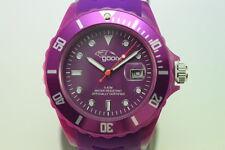 gooix Uhr GX06001100 Damenuhr Datum Silikonband Miyota Werk UVP 49€  nur 16,90€