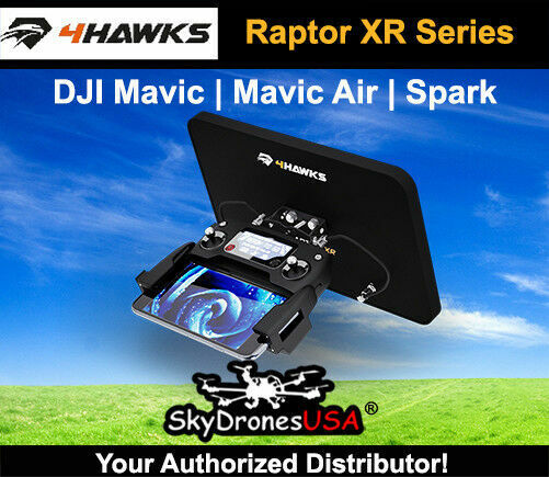 4Hawks Raptor XR Range Extender Antenna - DJI  Mavic   Mavic 2   Mavic Air   Spar  moda