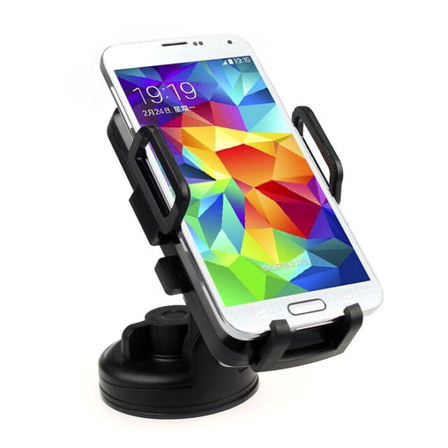 QI Wireless Suction Cup Vent Clip USB Car Device Holder Charger For Phone Tide