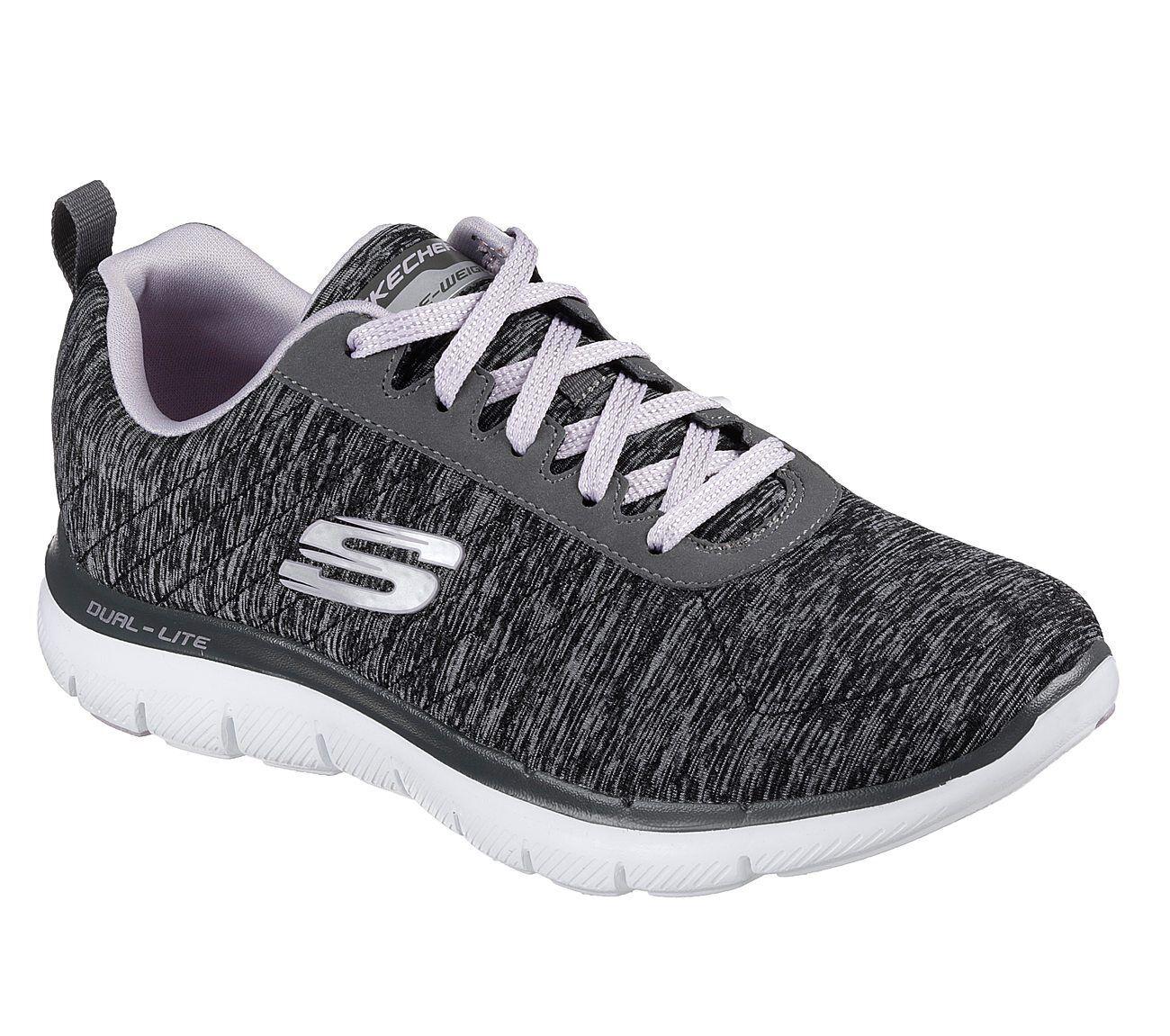 Appeal Nuevo 2 Señora Sneakers Flex 0 Negro Skechers 76gvIbyfY