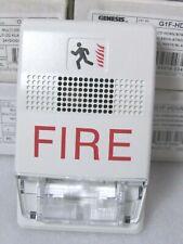 Edwards Est G1f Hdvm Genesis Horn Strobe White Fire Marking Clear Lens Ctokc