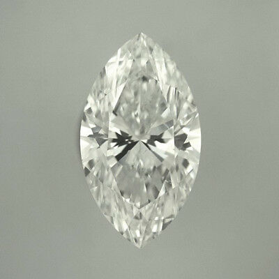 Fiery 14 X 7 MM 2.50 Carat Near White Marquise Cut Loose Moissanite 4 Ring