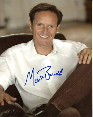 Sensible Mark Burnett Signed Autographed 8x10 Photograph Highly Polished Television