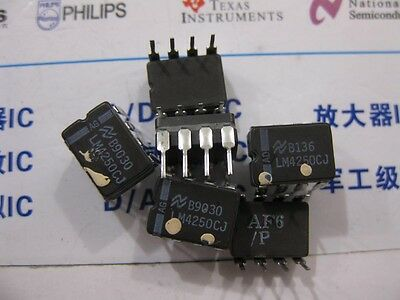 LM4250CH Programmable Operational Amplifier Metal Can