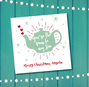 Christmas Card The Office Pam To My Jim Personalised Boyfriend Husband Ebay