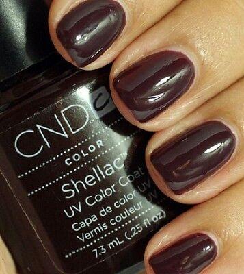 CND SHELLAC NAGELLACK NAGELGEL < FEDORA > 7.3 ml TOP DESIGN + NEU