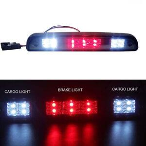 Full LED Third 3rd Brake Light+Cargo Lamp Fits 2015-2020 F150//F250 Chrome//Smoke