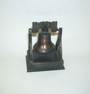 Liberty Bell Bronze Metal Pencil Sharpener