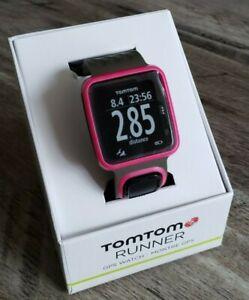 TomTom-Runner-Dark-Pink-GPS-Sports-Watch