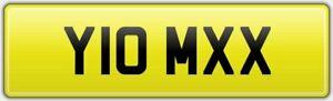 ISLE-OF-MAN-BIKER-TOP-REG-NUMBER-PLATE-Y10-MXX-TT-SUPERBIKE-RACE-FAN-IOM-XX