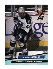 1992-93 Fleer Ultra Roman Hamrlik Rookie #201 Hockey Card NrMt-Mt