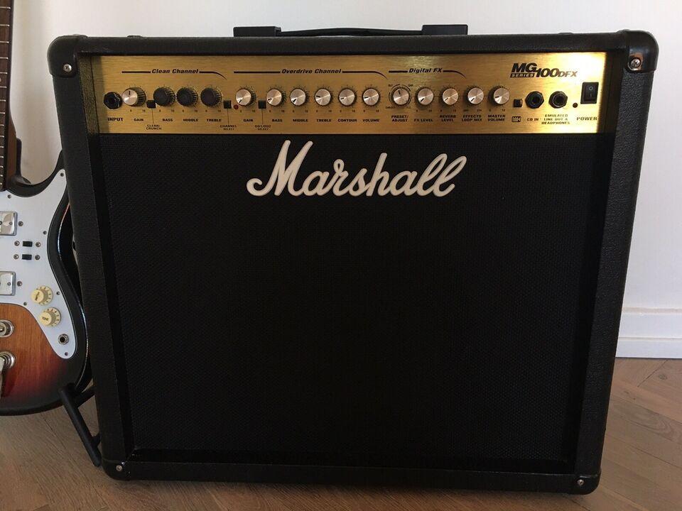 Guitarcombo, Marshall MG 100 DFX, 100 W