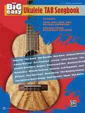 """ALFRED'S """"THE BIG EASY UKULELE TAB SONGBOOK"""" MUSIC BOOK BRAND NEW ON SALE!!"""