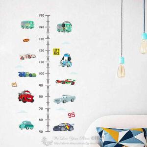 Disney-Cars-Height-Chart-Kids-Wall-Stickers-Decal-Nursery-Decor-Gift-Art-Mural