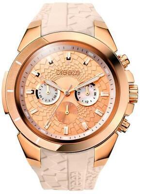 Breeze Womens Chronograph Watch Glamazon IP Rose Gold