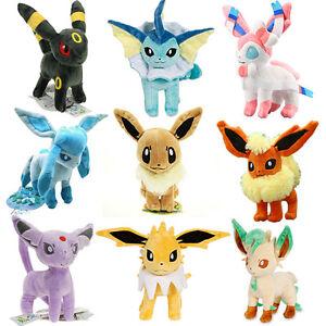 pop pokemon 9 sets center evolution of eevee umbreon espeon sylveon
