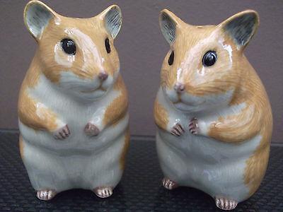 Hamster Salt and Pepper Pots Hamster Salt & Pepper Set
