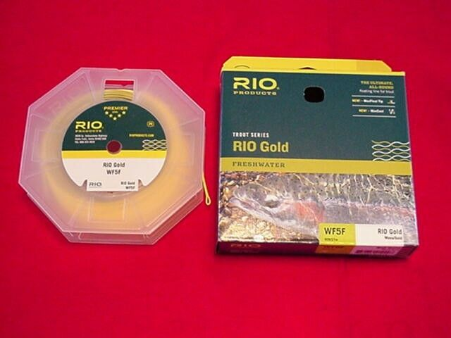 Fly pesca Rio oro WF5F Fly Line GREAT nuovo