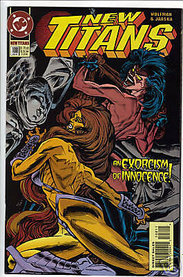 New Teen Titans New Titans #115 VF 1994 Stock Image